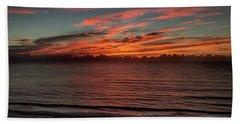 Atlantic Sunrise Beach Towel