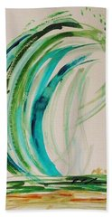 Atlantic Wave Beach Towel