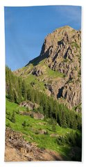 Beach Towel featuring the photograph Atlas Mine by Steve Stuller