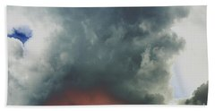 Atmospheric Combustion Beach Towel by Jesse Ciazza