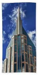 Beach Towel featuring the photograph Att Nashville by Stephen Stookey