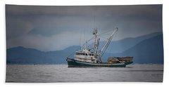 Attu Off Madrona Beach Sheet by Randy Hall