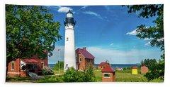 Au Sable Lighthouse  Beach Sheet