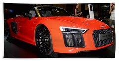 Audi R8 Beach Sheet