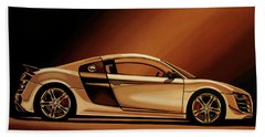 Audi R8 2007 Painting Beach Towel
