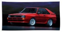 Audi Sport Quattro Beach Towel
