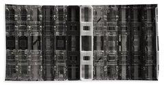 Audio Cassettes Collection Beach Towel