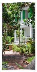 Audubon House Entranceway Beach Sheet