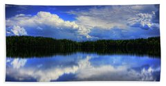 August Summertime On Buck Lake Beach Towel