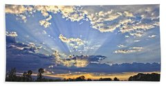 August Sunrise Beach Towel