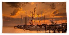 August Sunset Beach Towel