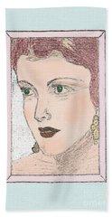 Aunt Edie Beach Towel