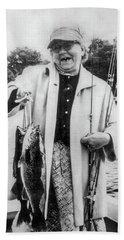 Aunt Grace Fishing Beach Sheet