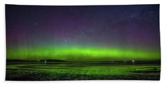 Beach Towel featuring the photograph Aurora Australia by Odille Esmonde-Morgan