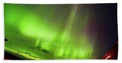 Aurora Southern Iceland Beach Towel