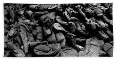 Auschwitz-birkenau Shoes Beach Towel