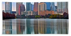 Austin Shimmer  Beach Towel by Frozen in Time Fine Art Photography