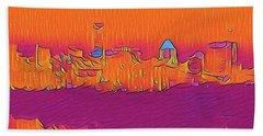 Austin Skyline Electric Beach Sheet