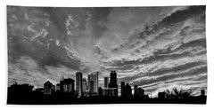 Austin Skyline Beach Towel