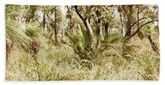 Beach Sheet featuring the photograph Australian Bush by Cassandra Buckley