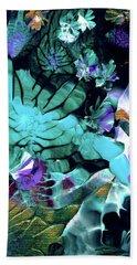 Australian Emerald Begonias Beach Towel