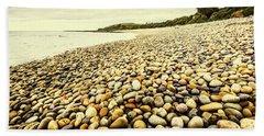 Australian Rocky Shoreline Beach Towel