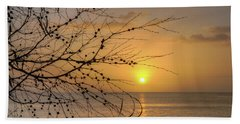 Australian Sunrise Beach Towel