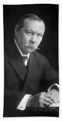 Author Sir Arthur Conan Doyle Beach Towel