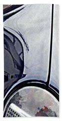 Auto Headlight 188 Beach Towel by Sarah Loft