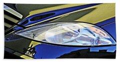 Auto Headlight 189 Beach Towel by Sarah Loft