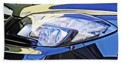 Auto Headlight 191 Beach Towel by Sarah Loft