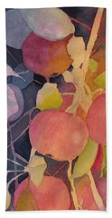 Autumn Apples Beach Sheet