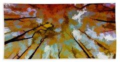 Autumn Ascent Beach Sheet