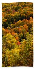 Autumn At Acadia Beach Towel