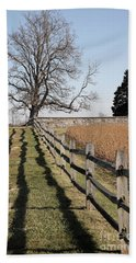 Autumn At Antietam Beach Towel
