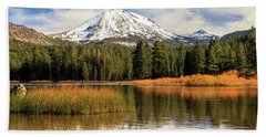 Autumn At Mount Lassen Beach Towel by James Eddy