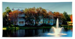 Autumn At Old Key West Resort Panorama Walt Disney World Mp Beach Towel