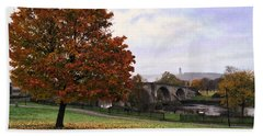 Autumn At Stirling Bridge Beach Towel