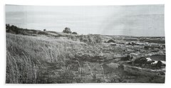 Beach Towel featuring the photograph Autumn At The Mouth Of The Big Sable 2.0 by Michelle Calkins