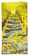 Autumn Avenue Beach Sheet