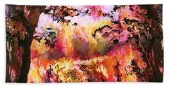 Autumn Beauty Beach Towel by Natalie Holland