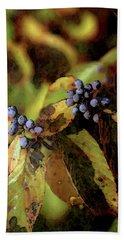 Autumn Berries 6047 Dp_2 Beach Sheet
