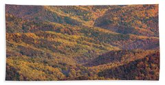 Autumn Blanket Beach Sheet