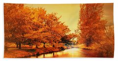 Autumn Breeze Beach Sheet by Wallaroo Images