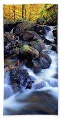 Autumn Cascade Beach Sheet