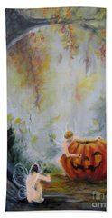 Autumn Color Celebration Beach Sheet