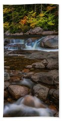 Autumn Colors In White Mountains New Hampshire Beach Towel