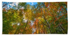 Autumn Colors  Beach Sheet