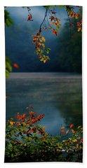 Autumn Colors Beach Sheet