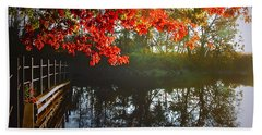 Autumn Creek Magic Beach Sheet